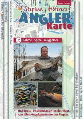 Angler-Karte Nr. 2 - Dahme/Spree/Müggelsee