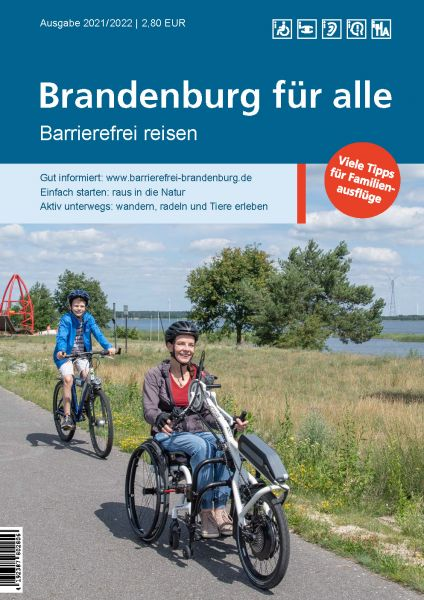 Brandenburg für alle. Barrierefrei reisen 2021