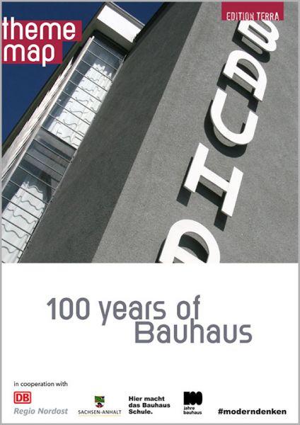 Theme map: 100 years of Bauhaus – english version