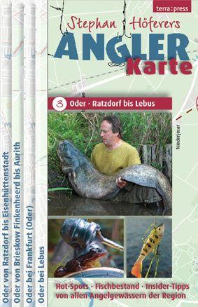 Angler-Karte Nr. 3 - Oder – Ratzdorf bis Lebus