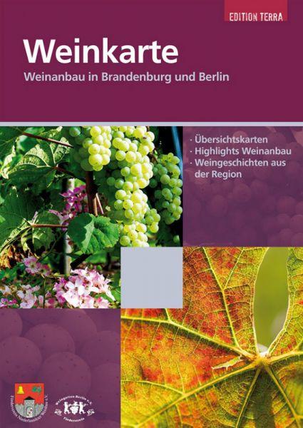 Weinkarte für Brandenburg und Berlin, Themenkarte