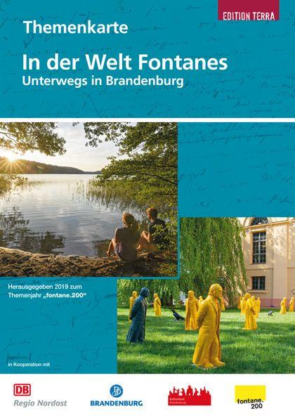 """Themenkarte: In der Welt Fontanes zum Themenjahr """"fontane.200"""""""