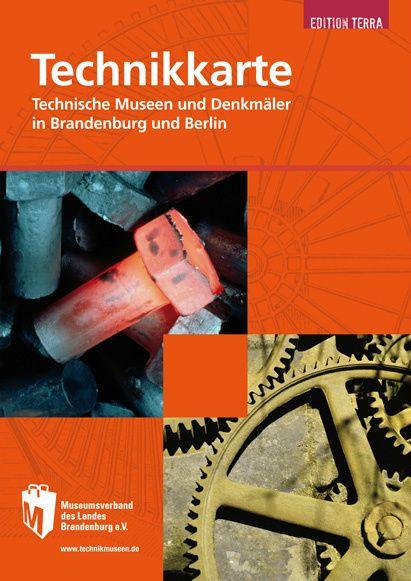 Technikkarte: Technische Museen und Denkmäler in Brandenburg und Berlin, Themenkarte
