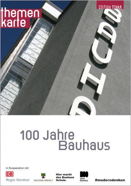 Themenkarte: 100 Jahre Bauhaus